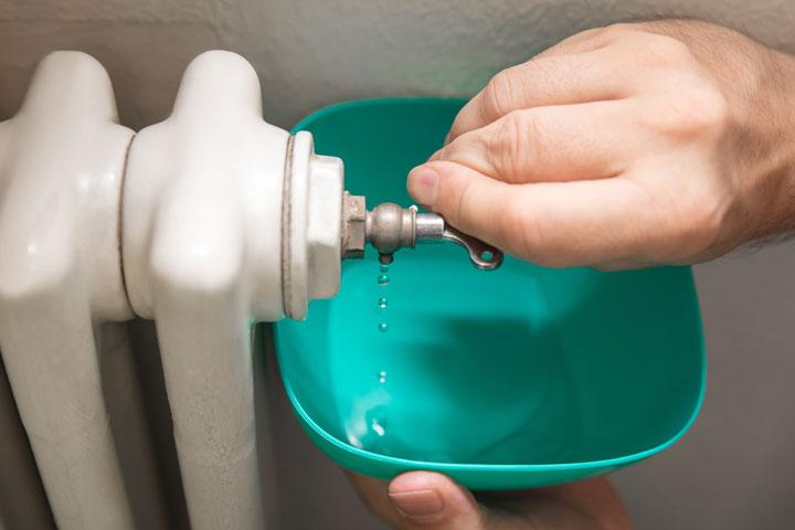 purge eau radiateur