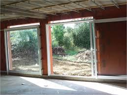 Installation baie vitrée à galandage