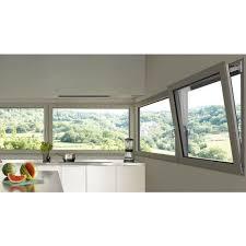 Installation fenêtre à soufflet