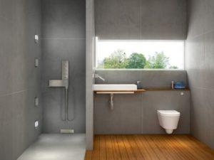 Installation et entretien douche à l'italienne