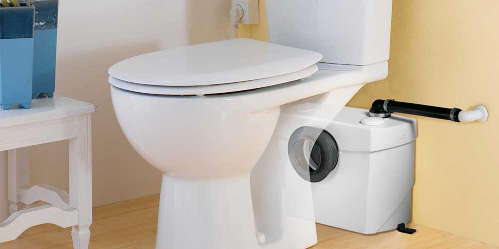 Le WC sanibroyeur fait du bruit