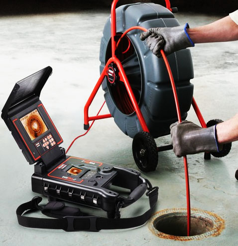 caméra de plomberie
