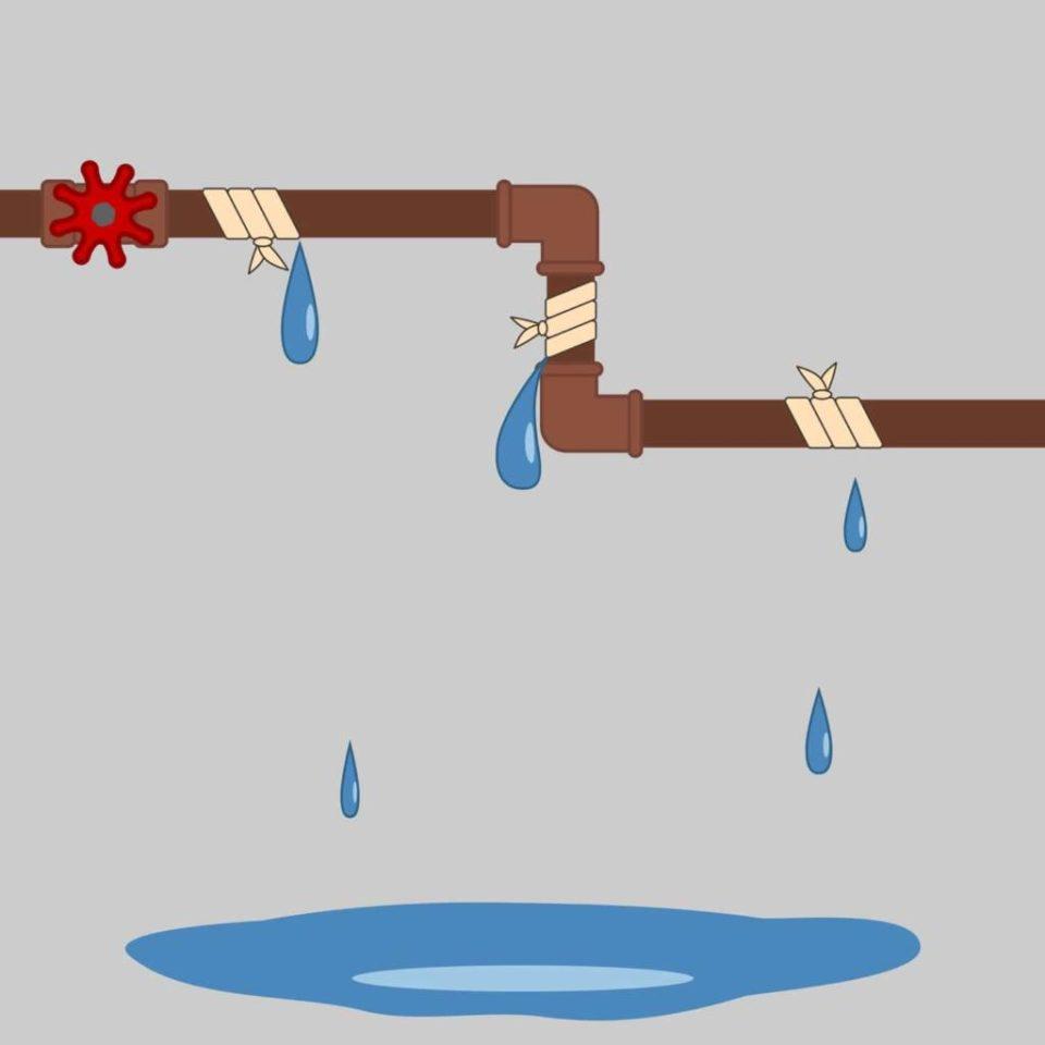 Que faire en cas de fuite d'eau ?