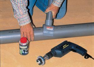 Comment faire un raccord sur un tuyau PVC ?