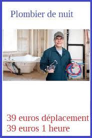 plombier ouvert la nuit