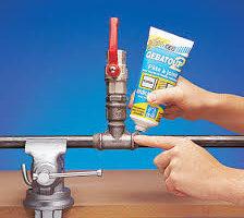 Colmatage provisoire fuite d'eau